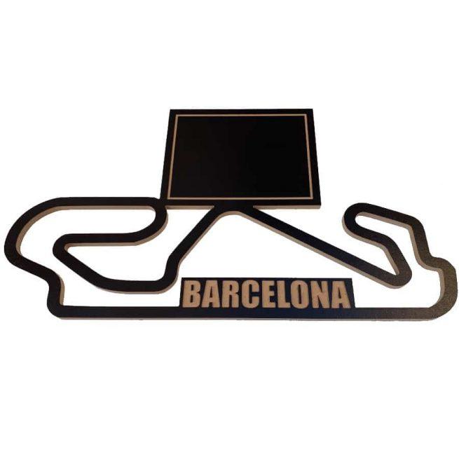 circuito barcelona montmelo catalunya madera