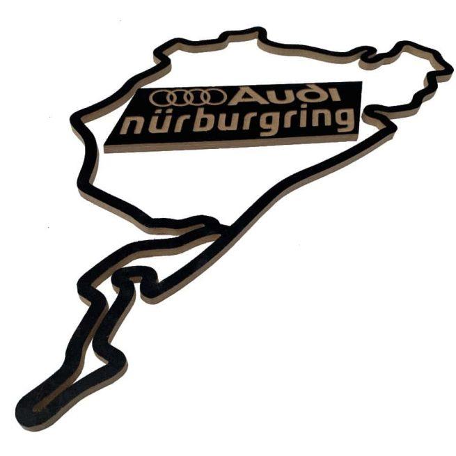 circuito nurburgring madera audi