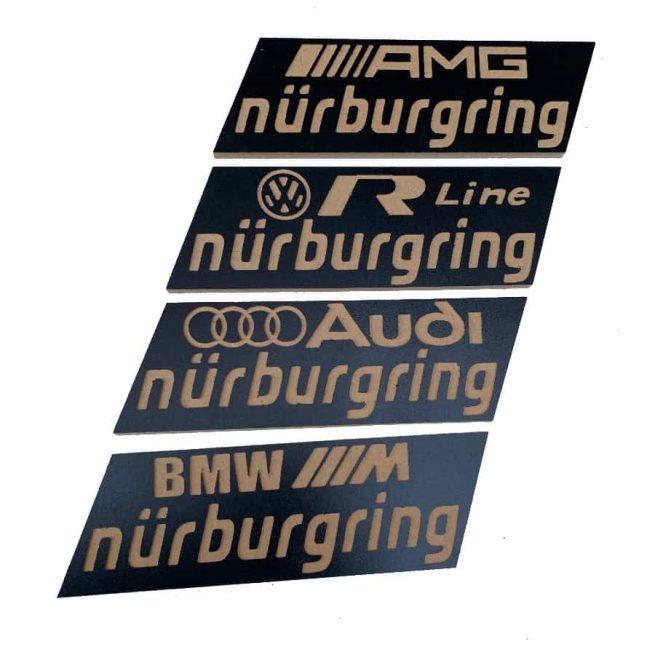 circuito nurburgring madera marcas