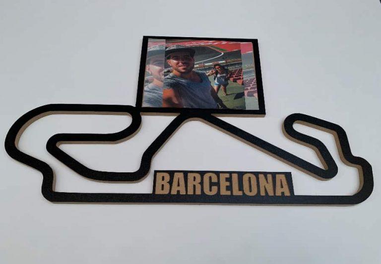 circuito decoracion montmelo barcelona madera