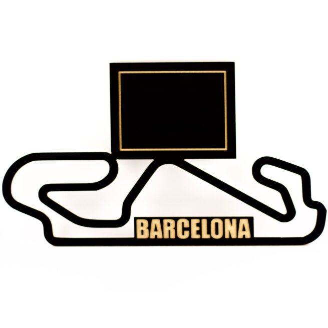 circuito barcelona madera