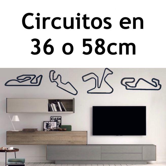 trazado circuitos motogp madera