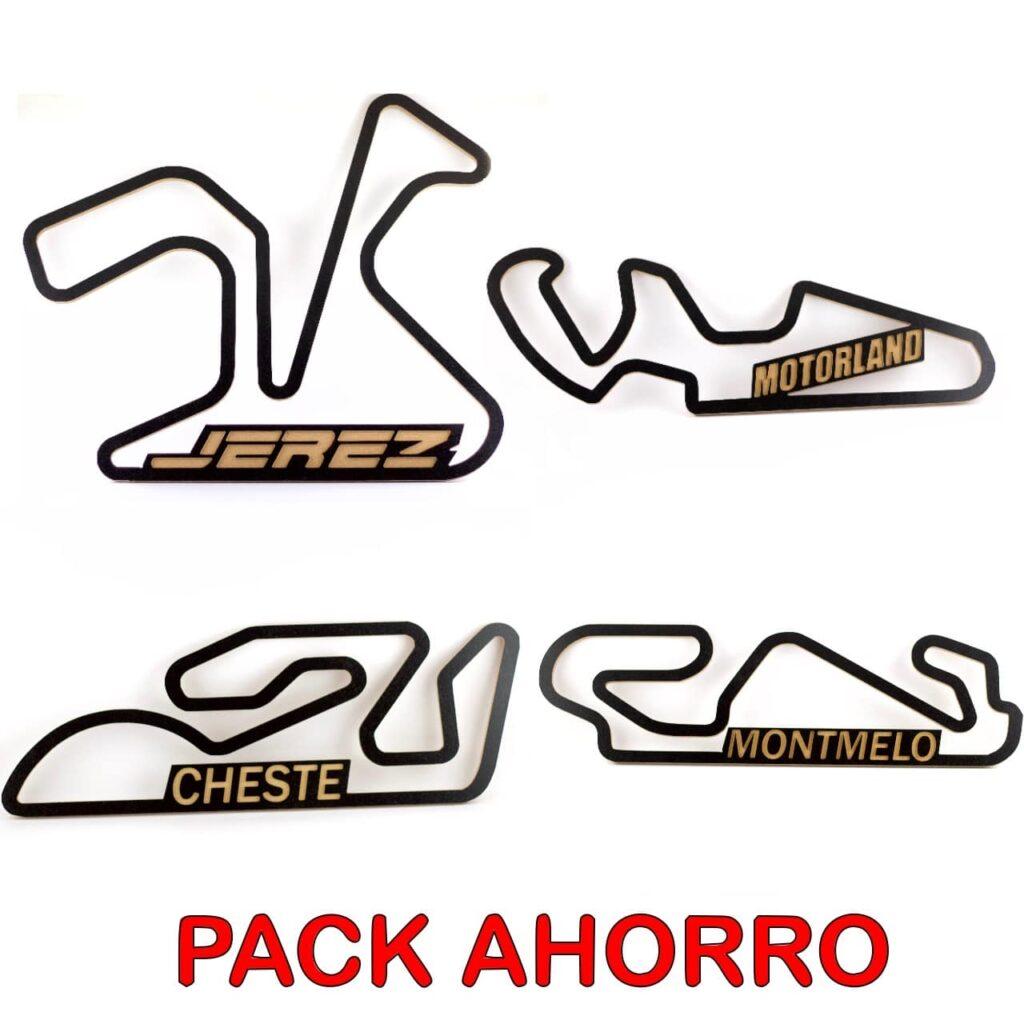 Pack Circuitos Españoles MOTOGP